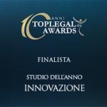 FINALISTA STUDIO DELL'ANNO - INNOVAZIONE